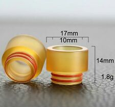 PEI drip tip - GOON RDA - KENNEDY RDA- TFV12/TFV8 810drip tip wide bore vape US