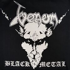 VENOM BLACK METAL BLACK CANVAS BACK PATCH