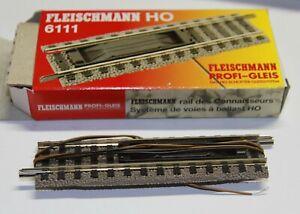 Fleischmann Profigleis 6111 el. Entkupplungsgleis neu und unbenutzt in OVP