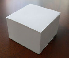 Blank Note Paper Cubes - #80 Offset - Padded 3 1/2 x 3 1/2 ( LOT of 24 )