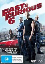 Fast & Furious 6 (DVD) Vin Diesel, Paul Walker, Dwayne Johnson Action, Thriller