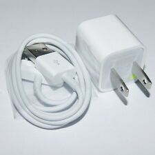Genuine Original 5V 1A Charger Adapter+USB Cable for Apple iPhone 4 4S 3GS 3G