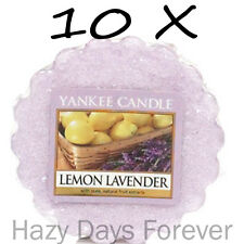 Yankee Candle Lemon Lavender 10 Wax Tarts
