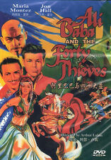 Ali Baba and the forty thieves DVD Jon Hall Maria Montez NEW R0 Eng Sub
