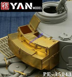 Yan Model PE-35043 1/35 WWII German Sd.Kfz.181 Tiger I Early Type Storage Box