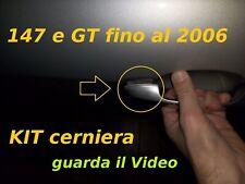 ALFA ROMEO 147 e GT kit pezzo cerniera x maniglia esterna (fino al 2006)
