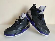 Jordan Son of Mars Low - Black Grape - Used - UK12 EUR47.5 - 580603-008 - VGC