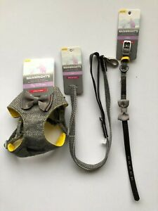 Wainwright's Just For Puppy Step In Harness  X SMALL 41-48 CM.PLUS LEAD &COLLAR