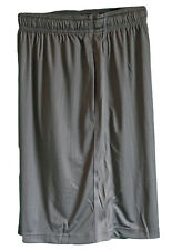 NEW NIKE Men's Fit-Dry Stay Cool Gym Fitness Shorts Charcoal Grey XL