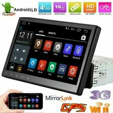 "10,1"" Bluetooth 1DIN 1080P Android 6.0 Autoradio GPS MP5 Lecteur 16G USB WiFi"