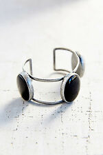 URBAN OUTFITTERS Silver Tone Caged Enamel Cuff  Bracelet #34094474 NWT $28