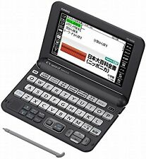 New Casio Electronic Dictionary EX-word XD-Y6500BK Black Learn Japanese Japan