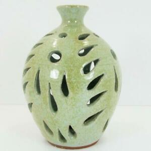 North Carolina Pottery Fairy Lamp