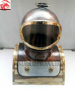 "Vasco Diving Helmet Fisheries Deep Sea Diving Helmet Replica- Size 18"" VH-290054"