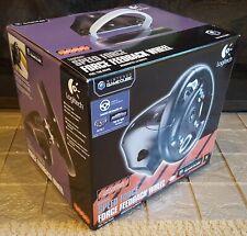 Logitech Speed Force Feedback Steering Wheel Brand New for Nintendo GameCube