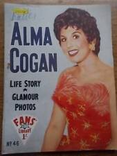ALMA COGAN:FANS STAR LIBRARY MEGA RARE BOOK