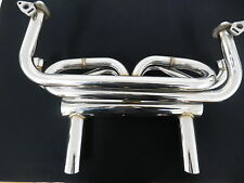 VW  BEETLE 1300 - 1600 TYPE 1 POLISHED STAINLESS EXTRACTORS (118)