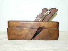 "Vintage Marten Doscher Dual Iron 1 ¼"" Wooden Molding Nosing Plane INV12625"