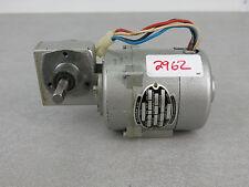 Klaxon Ltd F-81 En3Db2/W31 Motor Made in England Gearmotor
