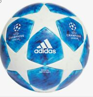 ADIDAS UEFA CHAMPIONS LEAGUE BLUE STAR OFFICIAL Match BALL 2018-19