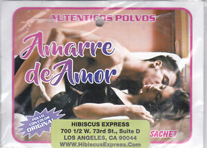 1 pkt. AUTENTICOS POLVOS Amarre de Amor - Aplique un poco de este polvo ...