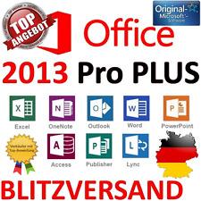 Microsoft Office 2013 Professional Plus Lizenz für 1 PC MS Office 2013 Pro Plus