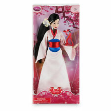 """Mulan Classic Doll Toy Figure with Mushu 12"""" Disney Store New in Box"""