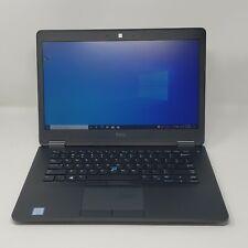 """Dell Latitude E7470 14"""" i7-6600U @ 2.60GHz 8GB DDR4 500GB M.2 SSD W10P"""
