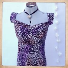 Christmas Animal Print Regular Size Dresses for Women