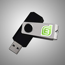 LINUX MINT 19.3 TRICIA 16 & 32BIT INSTALL/LIVE 16 GB USB 2.0 | OPERATING SYSTEM