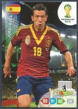 PANINI ADRENALYN XL FIFA WORLD CUP BRAZIL 2014-SPAIN-JORDI ALBA