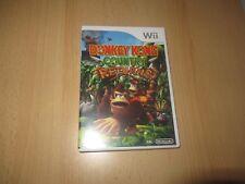 Donkey Kong Country Returns Nintendo Wii Buen Coleccionistas Versión Pal
