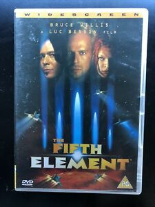 The Fifth Element DVD Bruce Willis, Gary Oldman Region 2