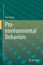 Pro-Environmental Behaviors: By Kurisu, Kiyo