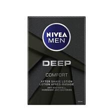 (66,70 €/ L) 3.4oz Nivea Men Deep Comfort after Shave Lotion Razor Antibacterial