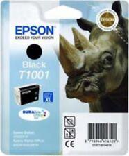 Original Epson T1001 Black Genuine Ink Cartridge Stylus T1001 Rhino Ink No Boxed