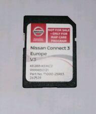 Genuine Nissan CONNECT3 Navigation Sat Nav Europe V3 SD Card KE288 KEMC2