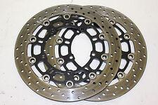 2/17 yamaha yzf r6 rj11 06-07 Disques de frein avant Brake Disc 4,4mm