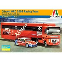 ITALERI 1:24 KIT TRUCK &TRAILER CAMION CITROEN CON AUTO CITROEN WRC  ART 3830