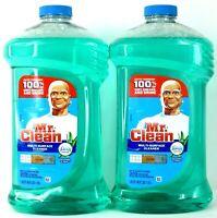 2x Mr. Clean Multi-Purpose Cleaner Meadows & Rain w/ Febreze Freshness 40 Oz