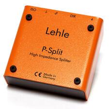 Lehle P-Split II Passive Signal Splitter