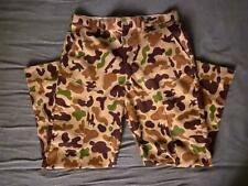 Men's vintage Bob Allen Ducks Unlimited camo pants size 36x32