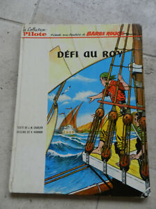 BD EO 1964 BARBE ROUGE DEFI AU ROY coolection pilote