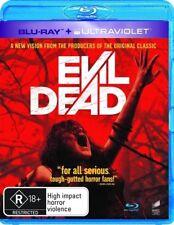 Evil Dead - BLU RAY LIKE NEW REGION B FREE POST AUS *NO ULTRAVIOLET CODE*