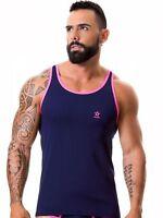 Jor 0311 Tapa Del Tanque de los Hombres Camiseta Entrenamiento Achelshirt