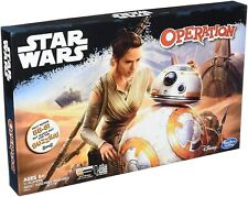 STAR WARS ORIGINAL OPERATION GAME From Hasbro. Help repair BB-8 Ages 6+ NEW