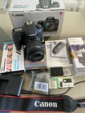 Canon EOS 77D 18-135mm with acessories like out of the box