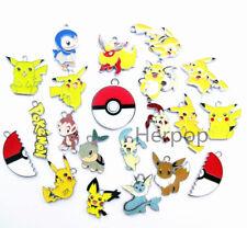 20pcs Pokemon mixed Metal Charms DIY Jewelry Making Pendants Earring gifts go-01