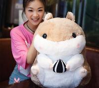 50cm Giant Large Big Fat Hamster Cricetulu Stuffed Soft Plush Toy Doll kids gift