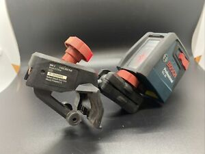 🔥PRE OWNED Bosch GLL 30 P Self-Leveling Cross-Line Laser with Flexible Mount🔥